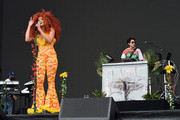 Lion Babe performs onstage during the 2018 Coachella Valley Music and Arts Festival Weekend 1 at the Empire Polo Field on April 15, 2018 in Indio, California.