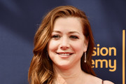 Alyson Hannigan attends the 2018 Creative Arts Emmy Awards at Microsoft Theater on September 8, 2018 in Los Angeles, California.