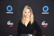 Sasha Pieterse of Pretty Little Liars: The Perfectionists attends during 2018 Disney, ABC, Freeform Upfront at Tavern On The Green on May 15, 2018 in New York City.