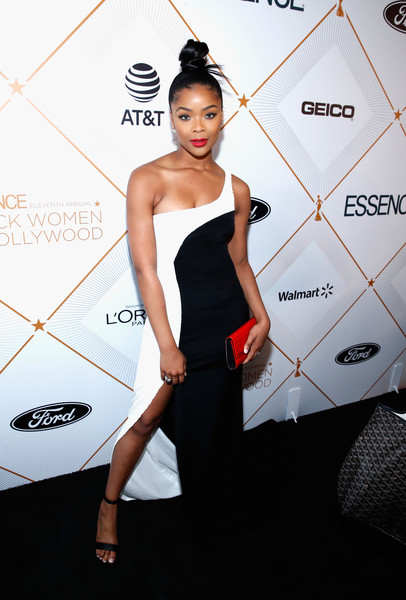 2018 Essence Black Women In Hollywood Oscars Luncheon - Red Carpet - 121 of 370