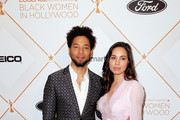 Jussie Smollett (L) and Jurnee Smollett-Bell attend the 2018 Essence Black Women In Hollywood Oscars Luncheon at Regent Beverly Wilshire Hotel on March 1, 2018 in Beverly Hills, California.