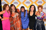 (L-R) Guest, Kym Whitley, Mikki Taylor, Michelle Miller and Esi Eggleston Bracey attend the 2018 Essence Festival presented by Coca-Cola at Ernest N. Morial Convention Center on July 6, 2018 in New Orleans, Louisiana.