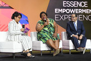 (L-R) April Ryan, Brittney Cooper and Michael Eric Dyson speak onstage during the 2018 Essence Festival presented by Coca-Cola at Ernest N. Morial Convention Center on July 7, 2018 in New Orleans, Louisiana.