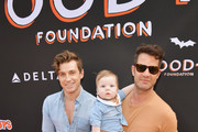 (L-R) Jeremiah Brent, Poppy Brent-Berkus and Nate Berkus attends the 2018 GOOD+ Foundation's 3rd Annual Halloween Bash presented by Delta Air Lines and Otter Pops on October 28, 2018 in Culver City, California.