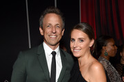 Seth Meyers  and Alexi Ashe attend the after party for the 2018 GOOD+ Foundation?s Evening of Comedy + Music Benefit, presented by Samsung Electronics America at Ziegfeld Ballroom on September 12, 2018 in New York City.
