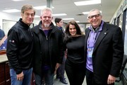 (L-R) Dr. Oz, Starkey Hearing Foundation Executive Director of Philanthropy Brady Forseth, writer Lisa Oz, and Vikings co-owner Zygi Wilf attend the 2018 Big Game Weekend Hearing Mission With Starkey Hearing Technologies on February 3, 2018 in Minneapolis, Minnesota.