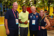 Yohan Blake Mark Peters Photos Photo