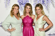 (L-R)  Actors Jodi Sweetin, Lori Loughlin, and Candace Cameron Bure attend the 2018 Hallmark Channel Summer TCA at a private residence on July 26, 2018 in Beverly Hills, California.