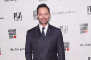 Nick Kroll attends the 2018 IFP Gotham Awards with FIJI Water at Cipriani, Wall Street on November 26, 2018 in New York City.