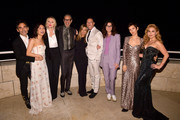 (L-R) James Kaliardos, Constance Wu, InStyle Magazine Editor in Chief Laura Brown, Jeff Goldblum, Jennifer Aniston, Chris McMillan, Elizabeth Stewart, Karla Welch, and Haley Reinhart attend the 2018 InStyle Awards at The Getty Center on October 22, 2018 in Los Angeles, California.