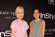 Kate Spade Creative Director Nicola Glass (L) and Leandra Medine attend the 2018 InStyle Awards at The Getty Center on October 22, 2018 in Los Angeles, California.