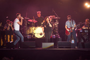 Charles Kelley, Hillary Scott and Dave Haywood of the band Lady Antebellum perform at the 2018 Let Freedom Sing! Music City July 4th concert on July 4, 2018 in Nashville, Tennessee.