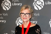 Elizabeth Strout attends the New York Public Library 2018 Library Lions Gala at the New York Public Library at the Stephen A. Schwarzman Building on November 5, 2018 in New York City.