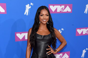 Karrueche Tran attends the 2018 MTV Video Music Awards at Radio City Music Hall on August 20, 2018 in New York City.