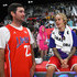 Bubba Watson Photos - Bubba Watson and Justin Bieber attend the 2018 NBA All-Star Game Celebrity Game at Los Angeles Convention Center on February 16, 2018 in Los Angeles, California. - 2018 NBA All-Star Game Celebrity Game