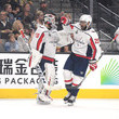 Braden Holtby and Devante Smith-Pelly Photos
