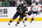 Tomas Tatar #90 of the Vegas Golden Knights skates against the Washington Capitals during the first period in Game Five of the 2018 NHL Stanley Cup Final at T-Mobile Arena on June 7, 2018 in Las Vegas, Nevada. The Capitals defeated the Golden Knights 4-3.
