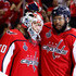 Braden Holtby Devante Smith-Pelly Photos - Braden Holtby #70 and Devante Smith-Pelly #25 of the Washington Capitals celebrate their team's 6-2 win over the Vegas Golden Knights in Game Four of the 2018 NHL Stanley Cup Final at Capital One Arena on June 4, 2018 in Washington, DC. - 2018 NHL Stanley Cup Final - Game Four