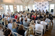 (L-R) Dana Adam Shapiro, Kimberly Reed, Robert Greene, Lisa D'Apolito and Tom Cavanagh attend Morning Coffee at the 2018 Nantucket Film Festival - Day 5 on June 24, 2018 in Nantucket, Massachusetts.
