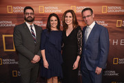 Courteney Monroe and Tim Pastore Photos Photo