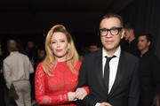 Natasha Lyonne (L) and Fred Armisen attend the 2018 Netflix Primetime Emmys After Party at NeueHouse Hollywood on September 17, 2018 in Los Angeles, California.