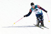 Oksana Masters of the United States during the Women's 6 km Sitting Biathlon competition at Alpensia Biathlon Centre on Day 1 of the PyeongChang 2018 Paralympic Games on March 10, 2018 in Pyeongchang-gun, South Korea.