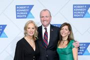 Kerry Kennedy, Phil Murphy and Tammy Snyder Murphy attend the 2018 Robert F. Kennedy Human Rights' Ripple Of Hope Awards at New York Hilton Midtown on December 12, 2018 in New York City.