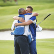 Ian Poulter and Terry Mundy Photos