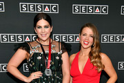 Hillary Scott (L) of musical group Lady Antebellum and SESAC's Lydia Schultz attend the 2018 SESAC Nashville Music Awards at Country Music Hall of Fame and Museum on November 11, 2018 in Nashville, Tennessee.