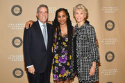 (L-R) Michael A. Steinberg, Suzan-Lori Parks and Joan Steinberg attend the 2018 Steinberg Playwright Awards at Lincoln Center Theater on December 3, 2018 in New York City.