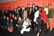"Cast and Crew of 'Assasination Nation' attend the ""Assassination Nation"" Premiere during the 2018 Sundance Film Festival at Park City Library on January 21, 2018 in Park City, Utah."
