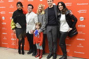 "Actor Priyanka Chopra, director Silas Howard, actors Claire Danes, Jim Parsons, Amy Landecker, and Leo James Davis attend the A Kid Like Jake"" Premiere during the 2018 Sundance Film Festival at Eccles Center Theatre on January 23, 2018 in Park City, Utah."