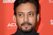 """Actor Irrfan Khan attends the """"Puzzle"""" Premiere at Eccles Center Theatre during the 2018 Sundance Film Festival on January 23, 2018 in Park City, Utah."""
