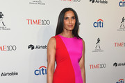 Author Padma Lakshmi attends the 2018 Time 100 Gala at Jazz at Lincoln Center on April 24, 2018 in New York City.