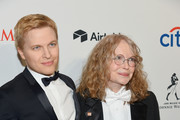 Journalist Ronan Farrow and actor Mia Farrow attend the 2018 Time 100 Gala at Jazz at Lincoln Center on April 24, 2018 in New York City.