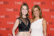 Television hosts Savannah Guthrie and Hoda Kotb attend the 2018 Time 100 Gala at Jazz at Lincoln Center on April 24, 2018 in New York City.
