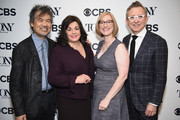 (L-R) David Henry Hwang, Charlotte St. Martin, Heather Hitchens, and Thomas Schumacher attend the 2018 Tony Awards Nominations Announcement at The New York Public Library for the Performing Arts on May 1, 2018 in New York City.