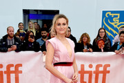 """Taylor Schilling attends the """"The Public"""" premiere during 2018 Toronto International Film Festival at Roy Thomson Hall on September 9, 2018 in Toronto, Canada."""