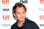"""Jude Law attends the """"Vox Lux"""" premiere during 2018 Toronto International Film Festival at The Elgin on September 7, 2018 in Toronto, Canada."""