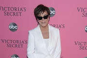Kris Jenner attends the 2018 Victoria's Secret Fashion Show at Pier 94 on November 08, 2018 in New York City.