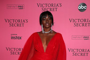 Zuri Tibby attends the 2018 Victoria's Secret Fashion Show After Party on November 8, 2018 in New York City.