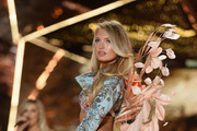 Romee Strijd walks the runway during the 2018 Victoria's Secret Fashion Show at Pier 94 on November 08, 2018 in New York City.