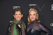 Honoree and VP for Whitney Museum Beth Rudin DeWoody (L) and Honoree and Trustee for Whitney Museum of American Art Joanne Leonhardt Cassullo attends the 2018 Whitney Gala sponsored by Audi on May 22, 2018 at Whitney Museum of American Art in New York City.
