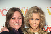 Honoree Cindy Holland and Jane Fonda attend the 2018 Women's Media Awards at Capitale on November 1, 2018 in New York City.
