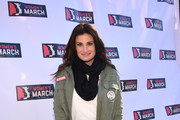Singer/actor Idina Menzel at 2018 Women's March Los Angeles at Pershing Square on January 20, 2018 in Los Angeles, California.