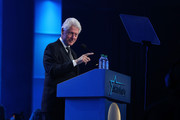 Bill Clinton takes the stage at the 2018 So the World May Hear Awards Gala benefitting Starkey Hearing Foundation at the Saint Paul RiverCentre on July 15, 2018 in St. Paul, Minnesota.