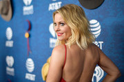(EDITORIAL USE ONLY. NO COMMERCIAL USE) Co-host Candace Cameron Bure arrives at the 2018 iHeartCountry Festival By AT&T at The Frank Erwin Center on May 5, 2018 in Austin, Texas.