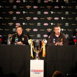 Phil Davis and Damien Hardwick Photos