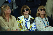 Anna Wintour attends the Men's Singles Final match between Novak Djokovic of Serbia and Rafael Nadal of Spain during day 14 of the 2019 Australian Open at Melbourne Park on January 27, 2019 in Melbourne, Australia.