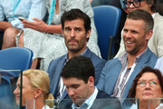 Mark Webber attends the Men's Singles Final match between Novak Djokovic of Serbia and Rafael Nadal of Spain during day 14 of the 2019 Australian Open at Melbourne Park on January 27, 2019 in Melbourne, Australia.